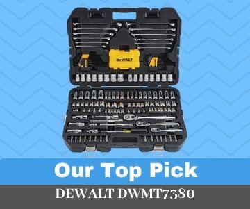 DEWALT DWMT73803 Best Socket Set For Mechanics Overall (Our Top Pick)