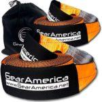 "GearAmerica 2PK 4"" x 30' Tow Straps"