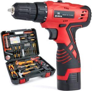 Dedeo Cordless Hammer Drill Tool Kit